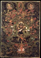 Mahakala (Buddhist Protector): Chaturbhuja (Four-hands)