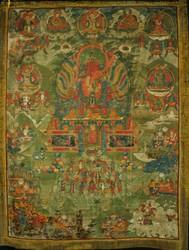 Amitayus Buddha: (with consort)