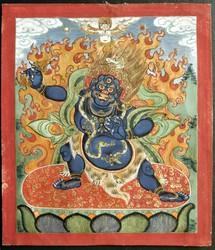 Vajrapani (Bodhisattva & Buddhist Deity): (Three Deities Combined)