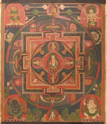 Vajrapani (Bodhisattva & Buddhist Deity): (Sarvadurgati Tantra, Chitta)