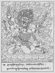 Hayagriva (Buddhist Deity): Heruka (Eight Pronouncements)