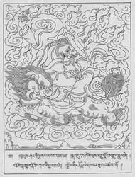 Worldly Protector (Buddhist): Dorje Legpa