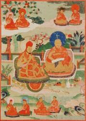 Teacher (Lama): (multiple figures)