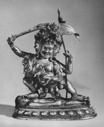 Mahakala (Buddhist Protector): Chaturmukha (Four-Faced)