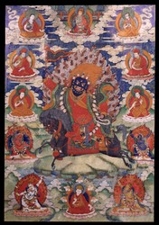 Worldly Protector (Buddhist): (unidentified male)