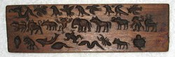 Carved Wood Blocks: Miscellaneous
