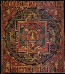 Shakyamuni Buddha: (Sarvadurgati Tantra)