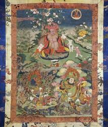 Arhat/Sthavira (Buddhist Elder): (Patron) Hvashang