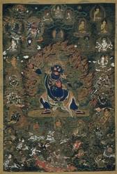 Vajrapani (Bodhisattva & Buddhist Deity): Nilambhara