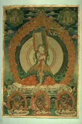 Sitatapatra (Buddhist Deity): (1000 faces, 1000 hands)