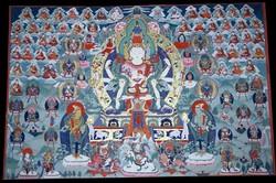 Kunzang Gyalwa Dupa (Bon Deity)