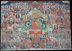 Peaceful Deity (Bon): (unidentified)