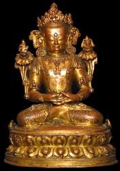 Kunzang Akor  (Bon Deity): (hands in meditation)