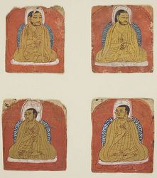 Teacher (Lama): (multiple figures)
