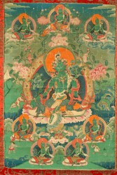 Tara (Buddhist Deity): Green Tara (Eight Fears)