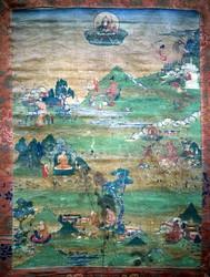 Indian Adept (siddha): (multiple figures)