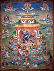 Jambhala (Buddhist Deity): Black (4 hands)