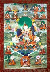 Padmasambhava: (Main Form with Consort)