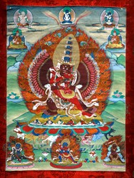 Mahottara Heruka (Buddhist Deity)