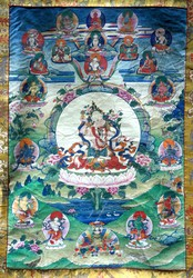 Tara (Buddhist Deity): White Tara (with consort)