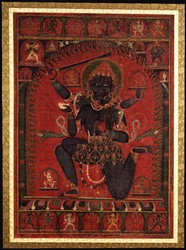 Achala (Buddhist Deity): Chandamaharoshana (with consort)