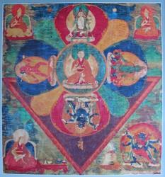 Mahakala (Buddhist Protector): Four Combined Deities  (lha shi dril drub)