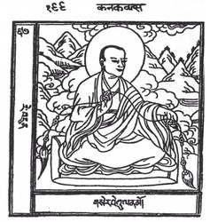Arhat/Sthavira (Buddhist Elder): 16 Elders: Kanakavatsa