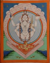 Vajrayogini (Buddhist Deity): White Khechari (Shangpa)