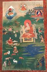 Arhat/Sthavira (Buddhist Elder): 16 Elders: Kanakabharadvaja