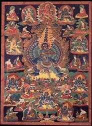 Mahottara Heruka (Buddhist Deity): (21 Faces)