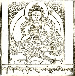 Indian Adept (siddha): Siddharajnyi (Drubpai Gyalmo)