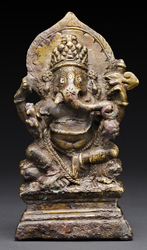 Ganapati (Indian God & Buddhist Deity)