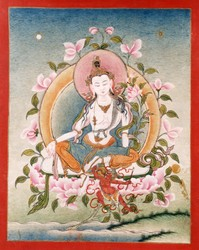 Avalokiteshvara (Bodhisattva & Buddhist Deity): Resting in the Nature of Mind