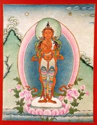 Marichi (Buddhist Deity): (Holding a Needle & Thread)