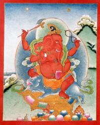 Ganapati (Indian God & Buddhist Deity)