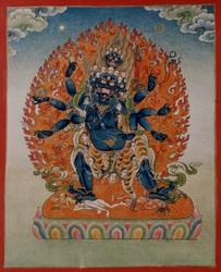 Dvajagrakeyura (Buddhist Deity)