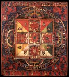 Hevajra (Buddhist Deity): Combined Families (Vajrapanjara Tantra)