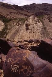 Petroglyph: Hunting Scene