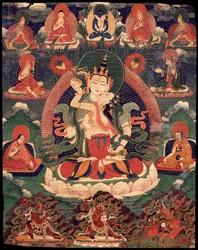 Vajrasattva (Buddhist Deity): White (with consort)