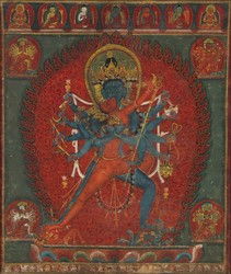 Chakrasamvara (Buddhist Deity): (Krishnacharin Tradition)