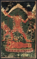 Vajrayogini (Buddhist Deity): Chinnamasta (Severed-head)