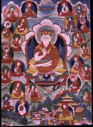 Teacher (Lama): (unidentified, male, monastic)