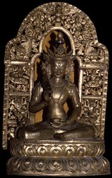 Peaceful Deity (Bon): (unidentified)