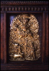 Wrathful Deity (Bon): (unidentified)