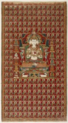 Vairochana Buddha: Vajradhatu (Tattvasamgraha Tantra)