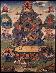 Worldly Protector (Buddhist): Draglha Gonpo
