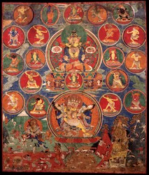 Ratnasambhava Buddha: (Buddha Appearance)