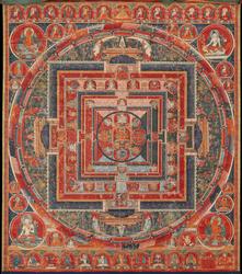 Guhyasamaja (Buddhist Deity): Manjuvajra
