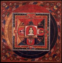 Vajrapani (Bodhisattva & Buddhist Deity): (Sarvadurgati Tantra, Four Kings)