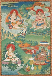 Indian Adept (siddha): (multiple figures)